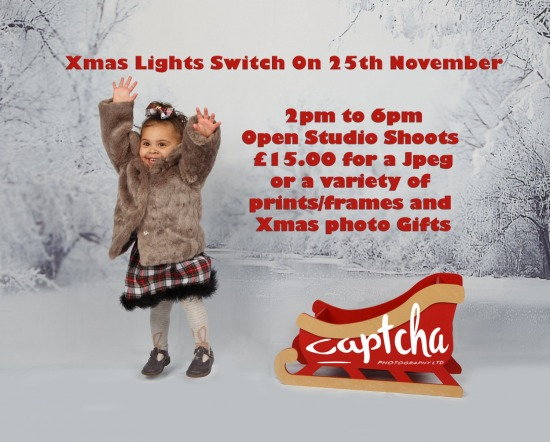 Christmas Lights Switch on & Free Winter Wonderland Shoots
