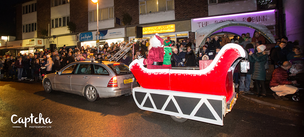 East Leake Xmas Lights