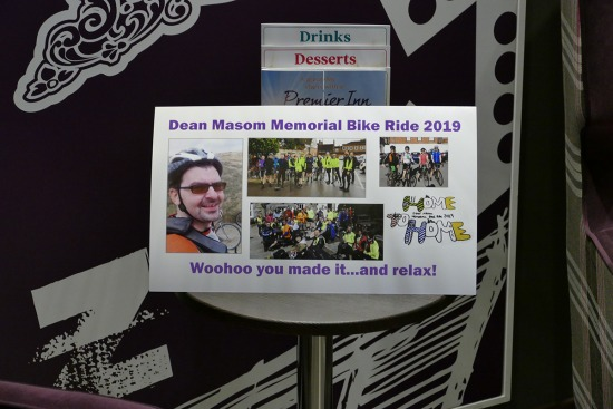 Dean Masom Memorial Bike Ride