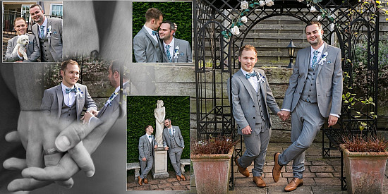 Steven & Ben Wedding album