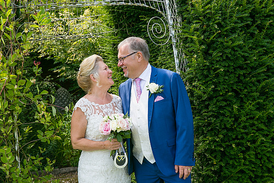 Keeping it local - Wendy & Robert saying I do